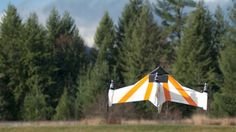 X PlusOne drone hovers steady, but also flies nose-first at 60 mph