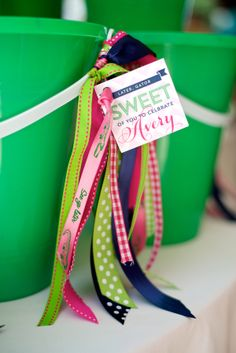 Sweet alligator birthday party favor tags I Custom by Nico and Lala