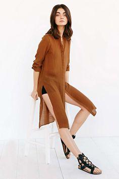 Vera Moda Rule Long Shirt