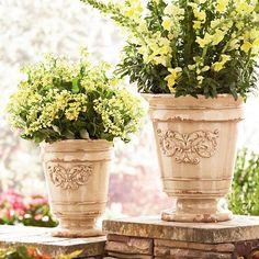beautiful planters