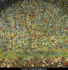 Apple Tree I - Gustav Klimt - www.klimtgallery.org