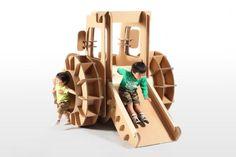 Tsuchinoco Kids: muebles y juguetes de cartón