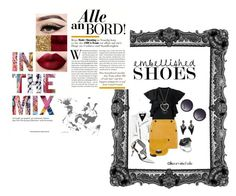 Bold & Bright by kearninichelle  featuring fashion, style, Facetasm, Yves Saint Laurent, Topshop, Pierre Hardy, CÉLINE, Effy Jewelry, Alexis Bittar, Alice + Olivia, clothing and embellishedshoes