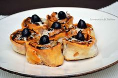 Les recettes de Nathou: Pizza rolls au chorizo