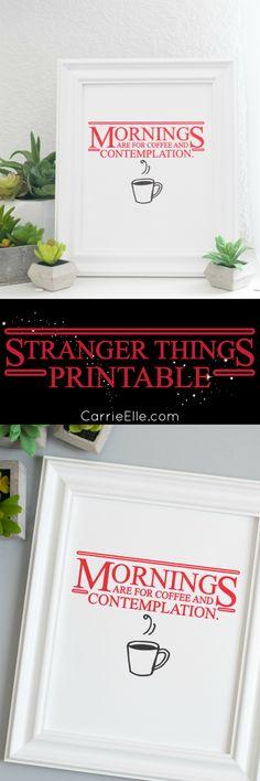 Stranger Things Printable #StreamTeam sponsored by Netflix