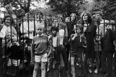 """On 28 July 1968, The Beatles were photographed in the churchyard grounds of St Pancras, in a famous series of pictures designed to promote the single """"Hey Jude"""" and the The White Album."""