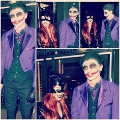Television work - Tom Kilbey - The Only Way Is Essex, SFX joker makeup by Hayley Fell