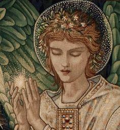 Detail from Adoration of the Magi, Tapestry, Edward Burne-Jones