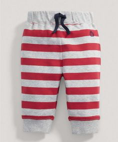 Boys Red Striped Joggers - New Arrivals - Mamas & Papas