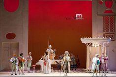 Teatro Verdi di Trieste e Teatro dell'Opera di Roma 2012 regia Ruggero Cappuccio,scene Carlo Savi