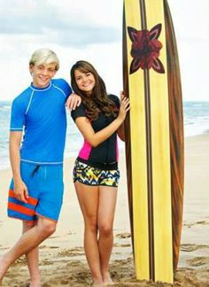 Teen Beach Movie 'Brady' and 'Mack'!
