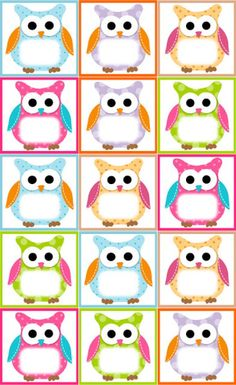 (Free Owl Label Templates) Back to School,Classroom,Classroom ideas,Fourth Grade, Owl Theme Classroom, Preschool Classroom, In Kindergarten, Classroom Teacher, Owl Preschool, Classroom Ideas, Classroom Birthday, Classroom Labels, Owl Labels