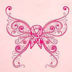 One side blue, the other side pink. Miscarriage and infant loss ribbon in middle.