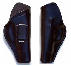 "Leather IWB Holster for CZ75 B (no rails) 4.5"" brl RH Pattern Fixed Clip by Turtlecreek Products -- Awesome products selected by Anna Churchill"