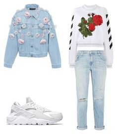 Designer Clothes, Shoes & Bags for Women Off White, Shoe Bag, Nike, Polyvore, Stuff To Buy, Shopping, Collection, Design, Women