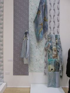 Hillarys visit the Nottingham Trent University (NTU) Textile Design degree show 2013 by Louise Coleman