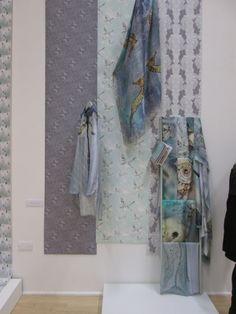 Hillarys visit the Nottingham Trent University (NTU) Textile Design degree show 2013 by Louise Coleman