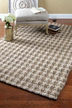 Houndstooth Rug From Soft Surroundings