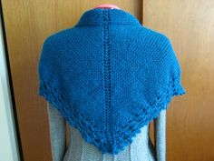 Final Day: NJ Knitter's Wrap (back view via Ravelry)    Pattern from Knit Simple Spring '12, by Vickie Howell