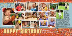 Happy 2nd Birthday - Scrapbook.com