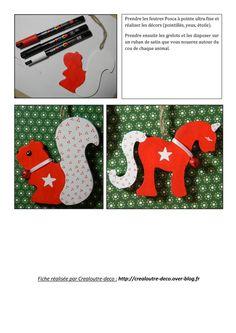 Tuto DIY Noël : suspensions en bois thème scandinave