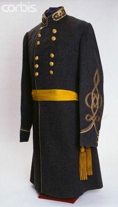 Confederate General John Bell Hood's 3rd Uniform Frock Coat & Sash
