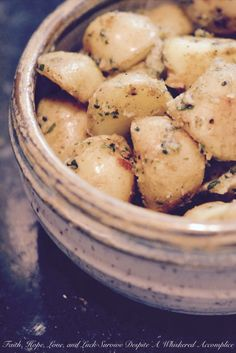 Boiled Crusted Potatoes   Faith, Hope, Love, and Luck Survive Despite a Whiskered Accomplice