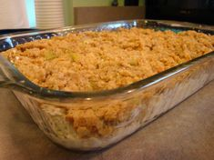 Make ahead and/or freeze chicken and stuffing casserole. I used boxed stuffing and canned chicken. YUM!