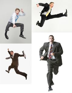 AnatoRef | Business Wear Action Poses (Various Unknown...