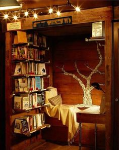 Another Cozy Reading Nook (i.it) submitted by to /r/CozyPlaces 0 comments original - Architecture and Home Decor - Buildings - Bedrooms - Bathrooms - Kitchen And Living Room Interior Design Decorating Ideas - Sweet Home, Home Libraries, Cozy Nook, Cozy Corner, Cosy Reading Corner, Small Corner, Cozy Cabin, Kids Corner, Book Nooks