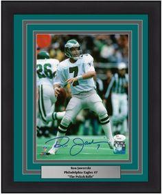 64cb4c335e8 Philadelphia Eagles Ron Jaworski Autographed 8