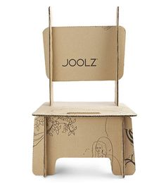 Joolz Stroller gives their packaging second life: each box can become something else from a chair to a birdhouse #design