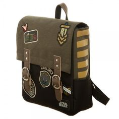 This Item up for sale is The Rogue One A Star Wars Story Rebel Mini Backpack, Manufactured by Bioworld. This Bag features Rebel Patches from Rogue One this December, this is a high quality bag!