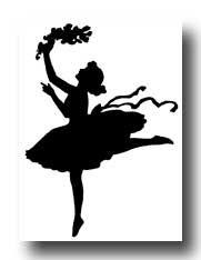 Dancer Silhouettes :: Silhouette Woman