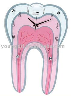 #dental clock, #tooth clock, #dental product