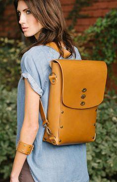 The Umuragi Convertible Backpack | Full Grain Leather | 41 Year Warranty | $269.00-SR