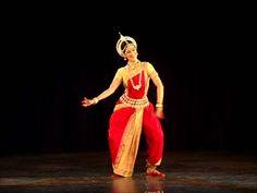 Danza Clásica de la India. ODISSI. Anandini Dasi. Bharatya Vidya Bhavan,...