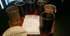 Taste and try locally produced brews in the Cumberland Valley. This is from Molly Pitcher Brewing Company in Carlisle