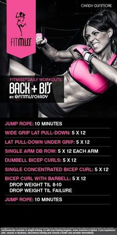 Back & bi's by fitmiss