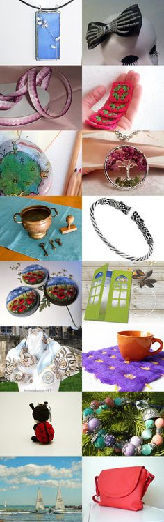 Summer finds by Vsevolod Potimko on Etsy--Pinned+with+TreasuryPin.com