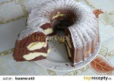 Bábovka Albert recept - TopRecepty.cz Healthy Deserts, Cream Cheese Frosting, Cinnamon Rolls, Truffle, Bagel, Doughnut, Cake Recipes, Food And Drink, Cooking Recipes