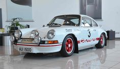 Porsche 911 Carrera 1973- Classic Rally Cars