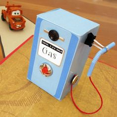 "Well, of course you need a ""Toy Gas Pump"" when you're playing with cars and trucks! @Spoonful"