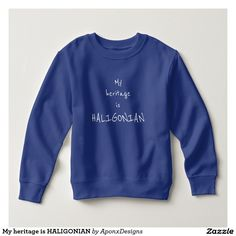 Toddler sweatshirt with blue mosaic Personalized Birthday Gifts, Pet Gifts, Toddler Fashion, Tshirt Colors, Kids Outfits, Tee Shirts, Graphic Sweatshirt, Sweatshirts, Clothes