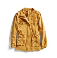 Stitch Fix Fall Stylist Picks: Yellow Cargo Jacket