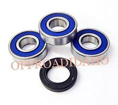 Rear axle wheel #bearing seal kit #harley xlch sportster #super charge 62 63 64 6,  View more on the LINK: http://www.zeppy.io/product/gb/2/371397431186/