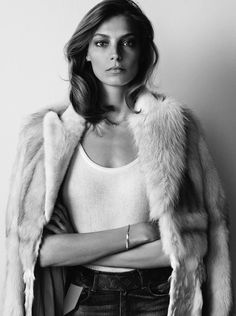 Daria Werbowy by Josh Olins for WSJ Magazine September 2014 _