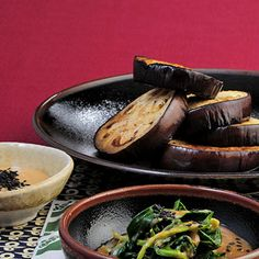 Auberginen mit süßer Misosauce Rezept | Küchengötter