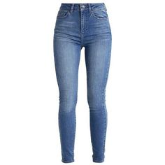ZOE Jeans Skinny Fit blue haze ❤ liked on Polyvore featuring jeans, pants, bottoms, skinny jeans, skinny fit denim jeans, skinny leg jeans, super skinny jeans and blue jeans