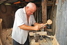 Mr. Sandu - wood craftman